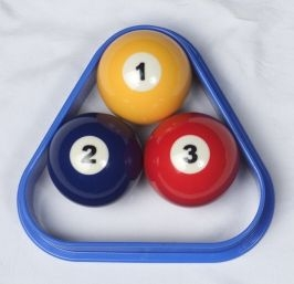3 ball pool rack